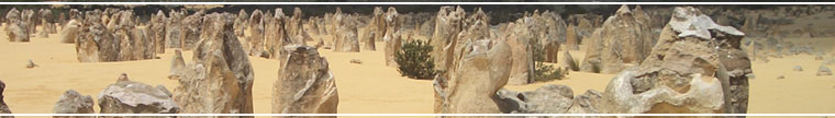 Western Australia – Nambung National Park, The Pinnacles